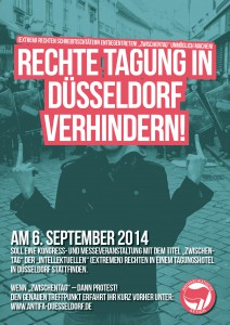Rechte Tagung in Düsseldorf verhindern
