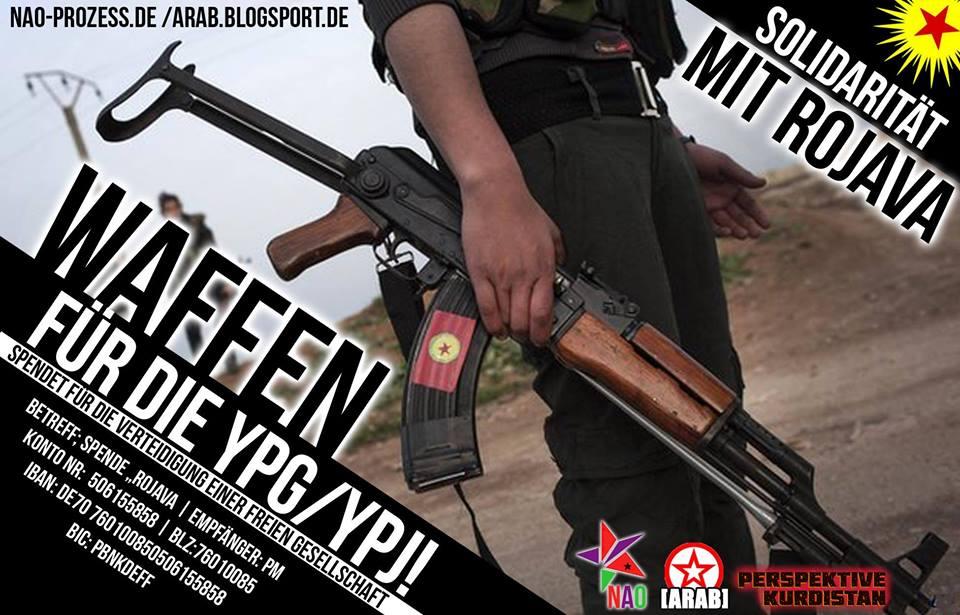 Kobae supporten - YPG supporten!
